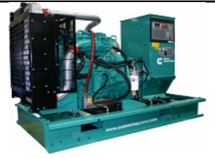 New Cummins diesel Generators