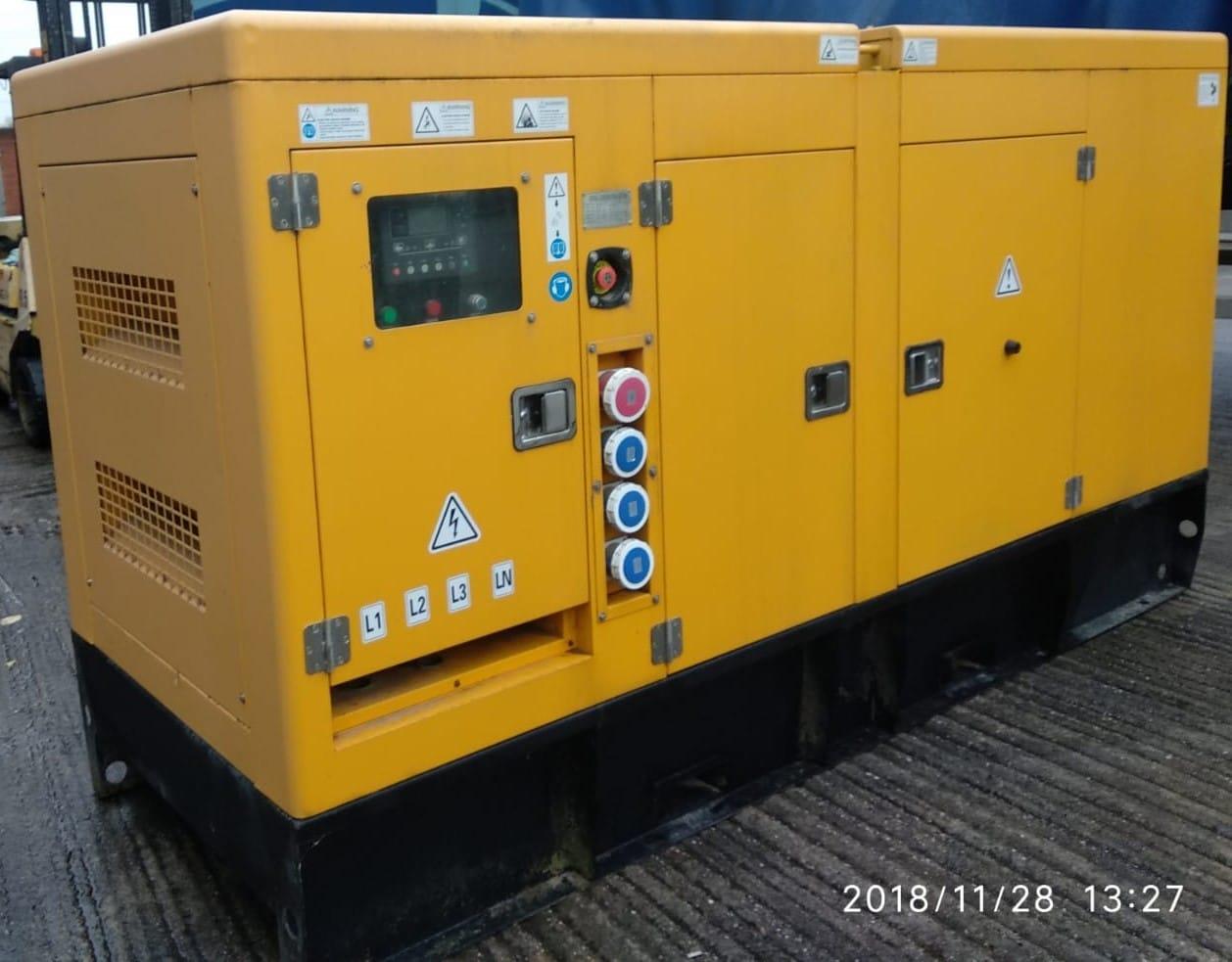 150 KVA Cummins Stamford Acoustic Used Generator