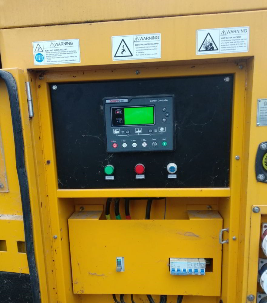 150 KVA Cummins Stamford Acoustic Used Generator 5