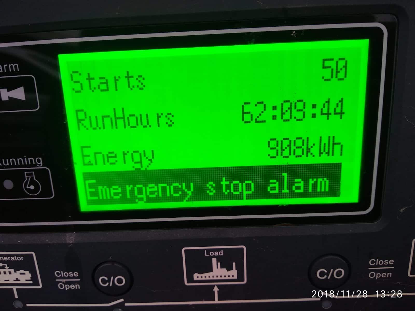 150 KVA Cummins Stamford Acoustic Used Generator screen