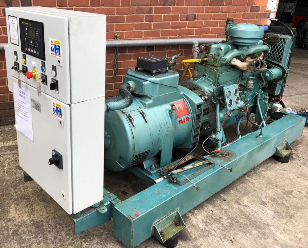 50 Kva Perkins Stamford AMF generator