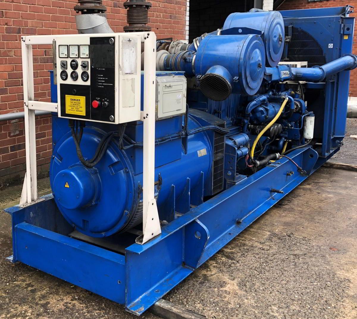 936 Kva Perkins Stamford Open Type Generator