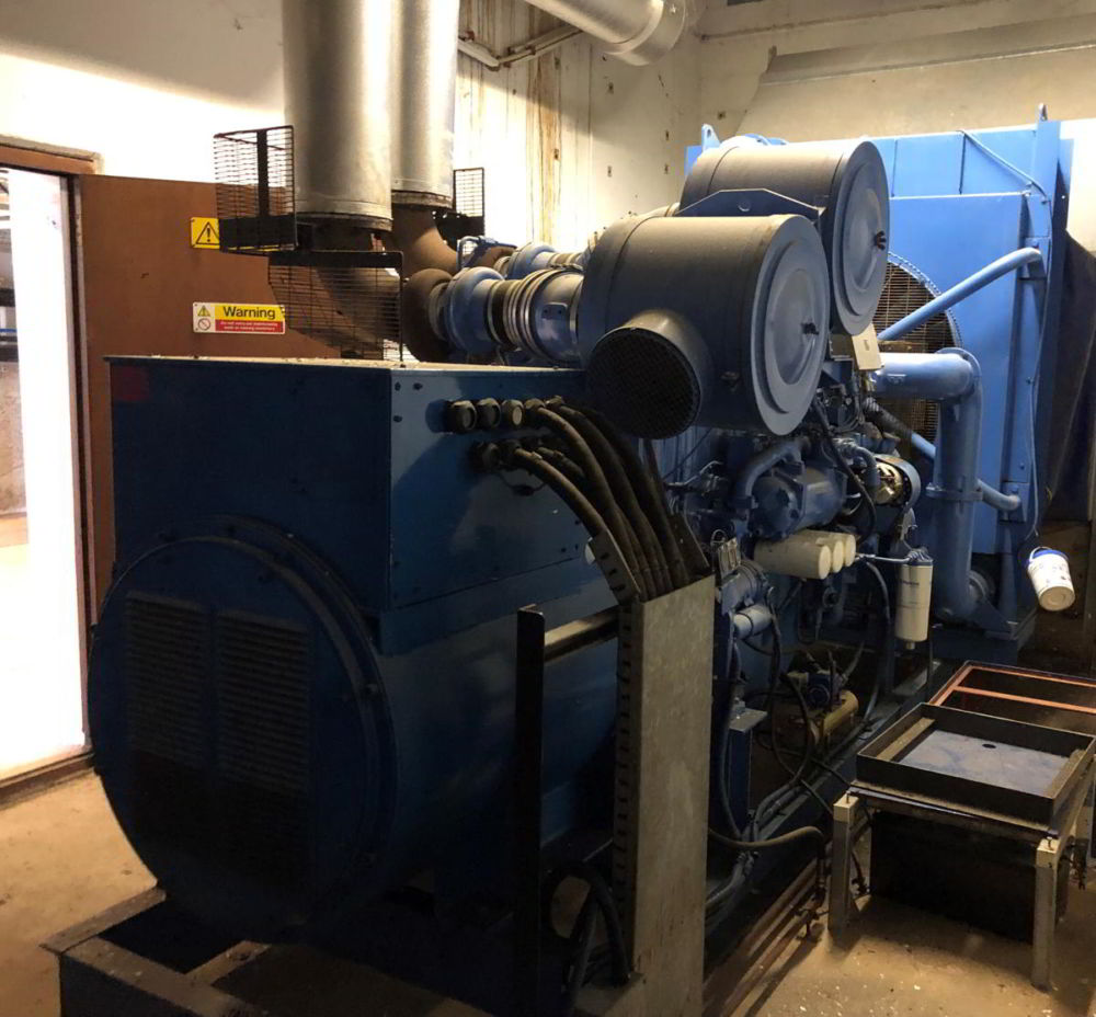715 KVA Perkins Marelli Used Diesel Generator 1