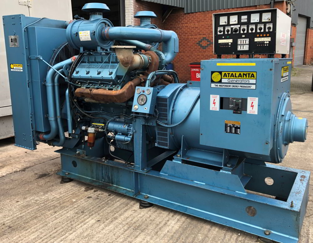 375 KVA Perkins Marelli Used Diesel Generator 1