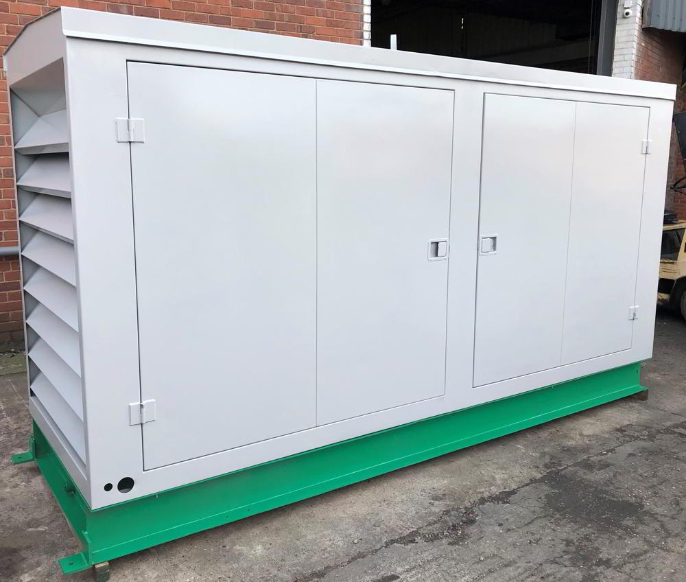 150 Kva Volvo Stamford Used Diesel Generator 1