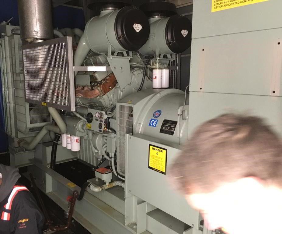 800 KVA Perkins Stamford Open Type Diesel Generator 1