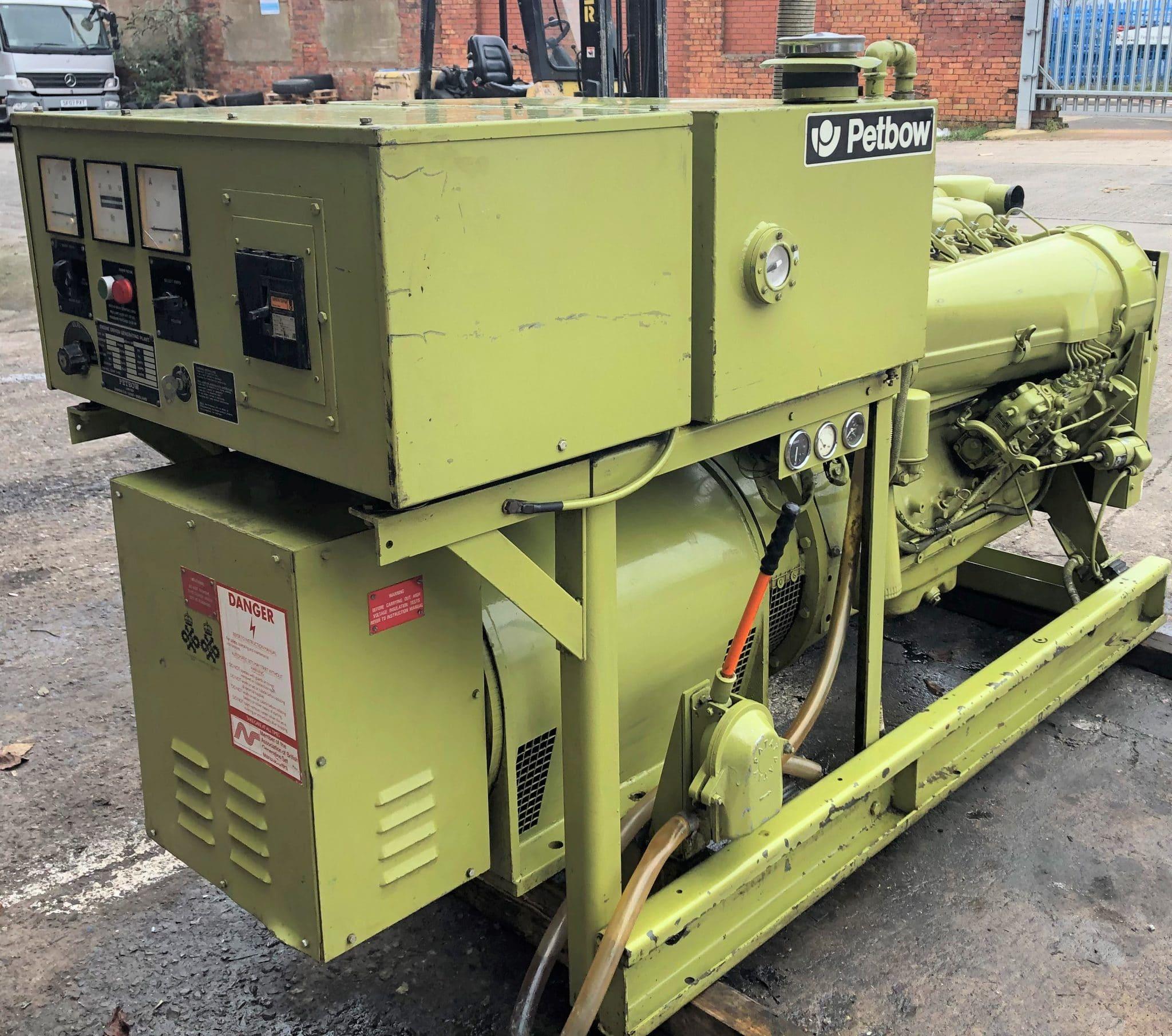 61 KVA Deutz Petbow Used Diesel Generator