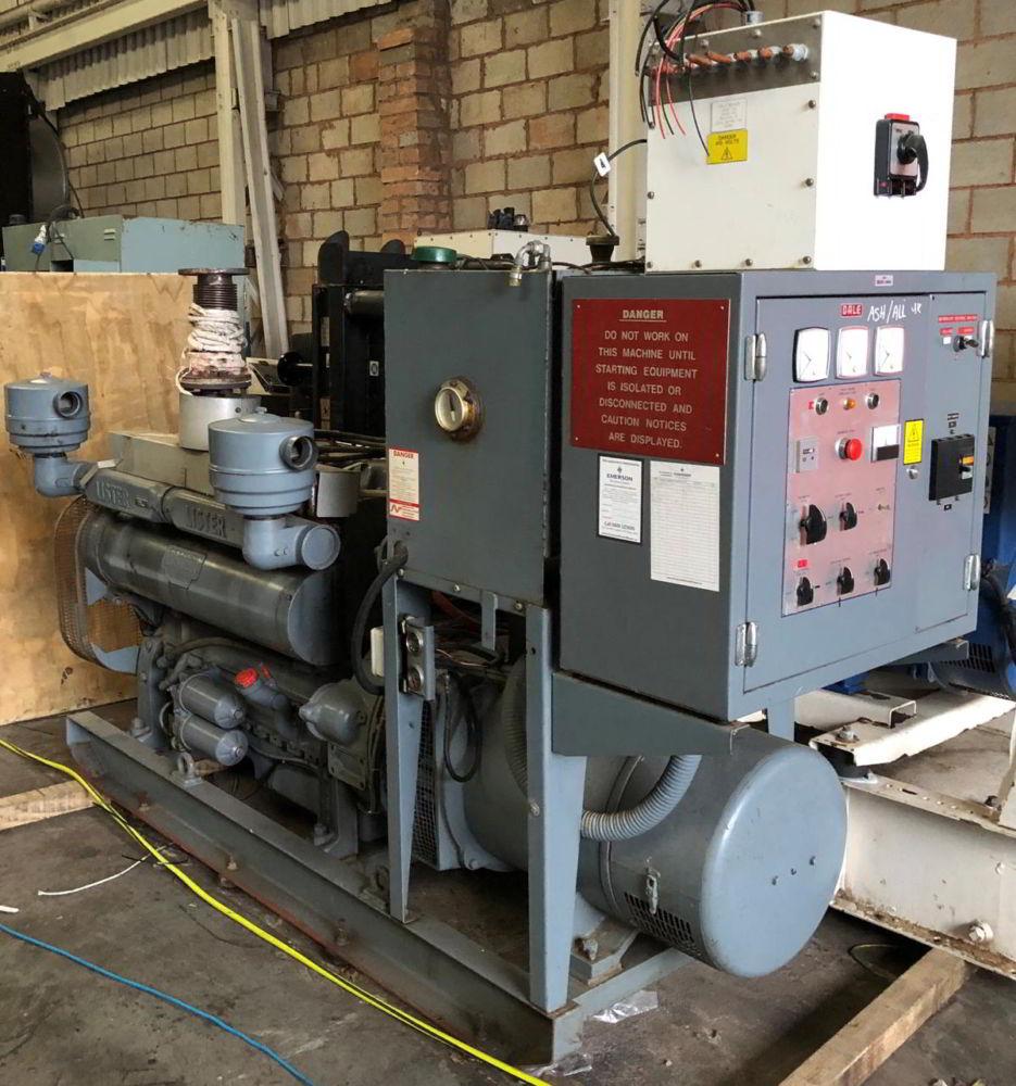 88 kVA Lister Stamford generators 1