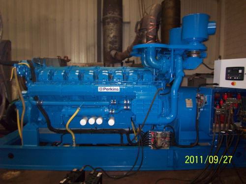 1500 KVA Perkins Marelli Used Diesel Generator