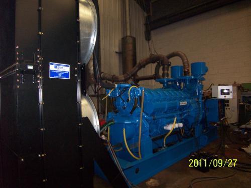 1500 KVA Perkins Marelli Used Diesel Generator 4