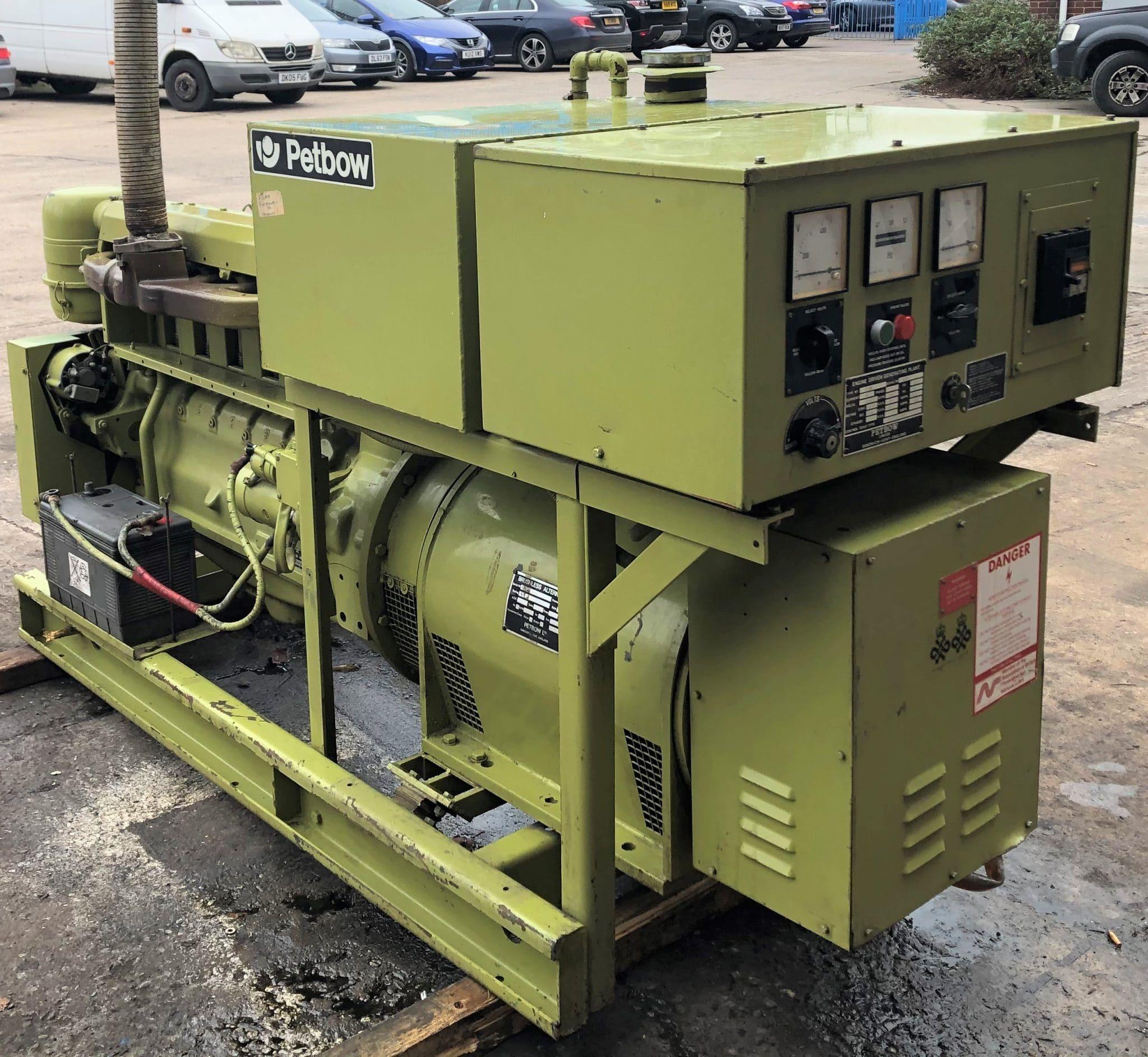 61 KVA Deutz Petbow Used Diesel Generator 2