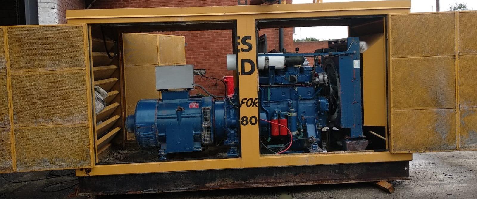 150 KVA Volvo Stamford Used Diesel Generator 2