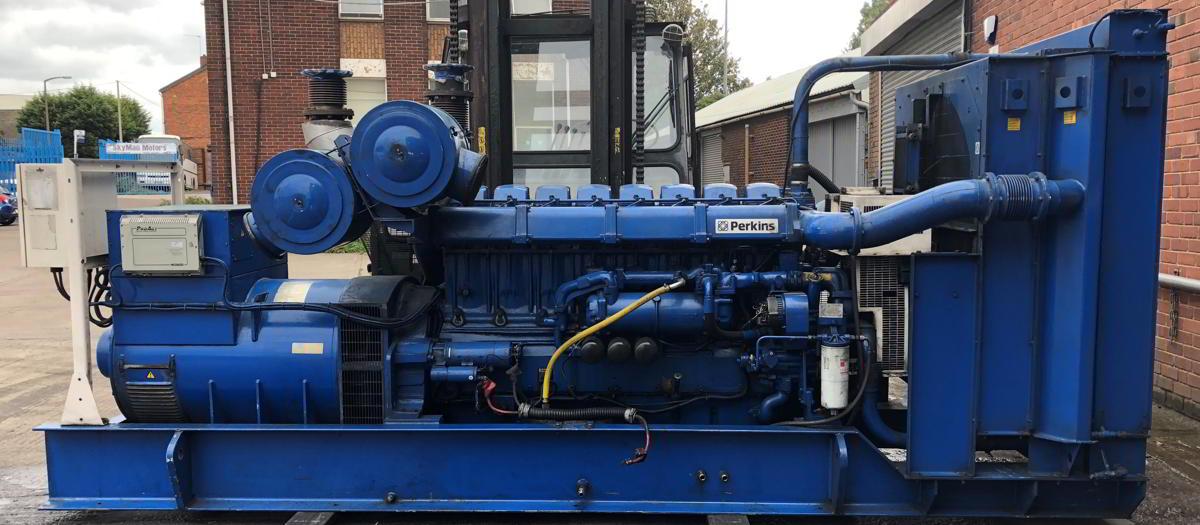 936 Kva Perkins Stamford Open Type Generator 2