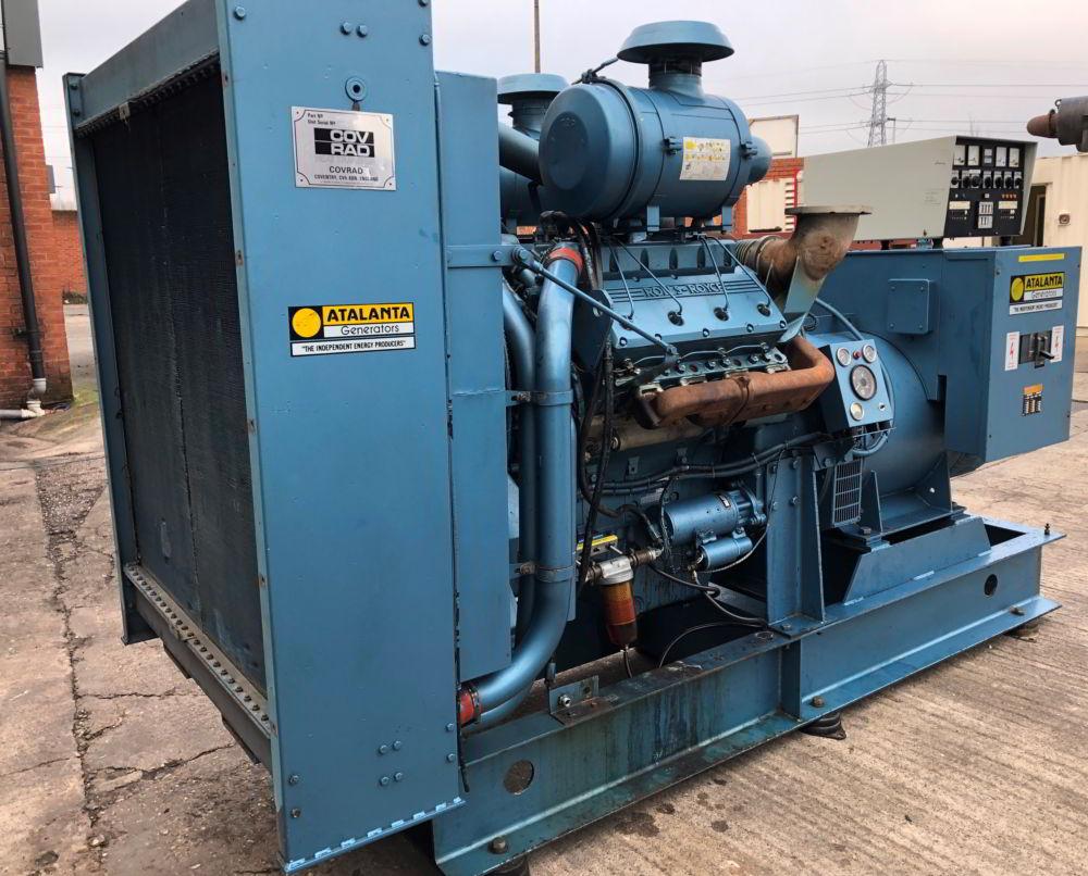 375 KVA Perkins Marelli Used Diesel Generator 2
