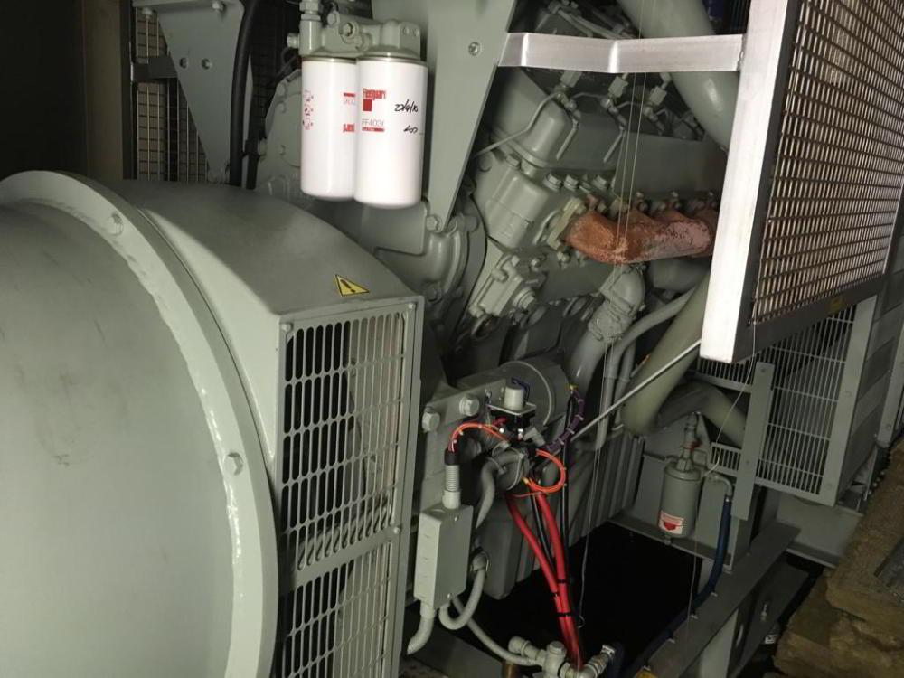 800 KVA Perkins Stamford Open Type Diesel Generator 2