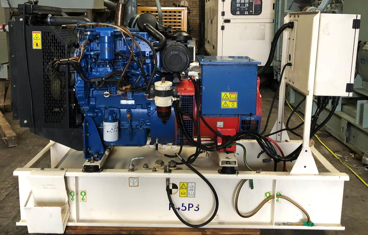 45 Kva Perkins Leroy Somer for sale