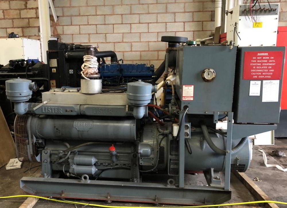 88 kVA Lister Stamford generators 2