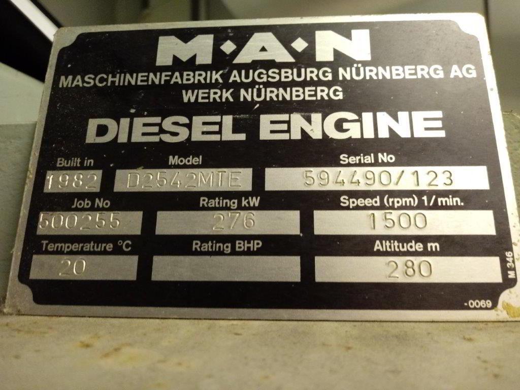 350 MAN ECC Open Type Generator 4