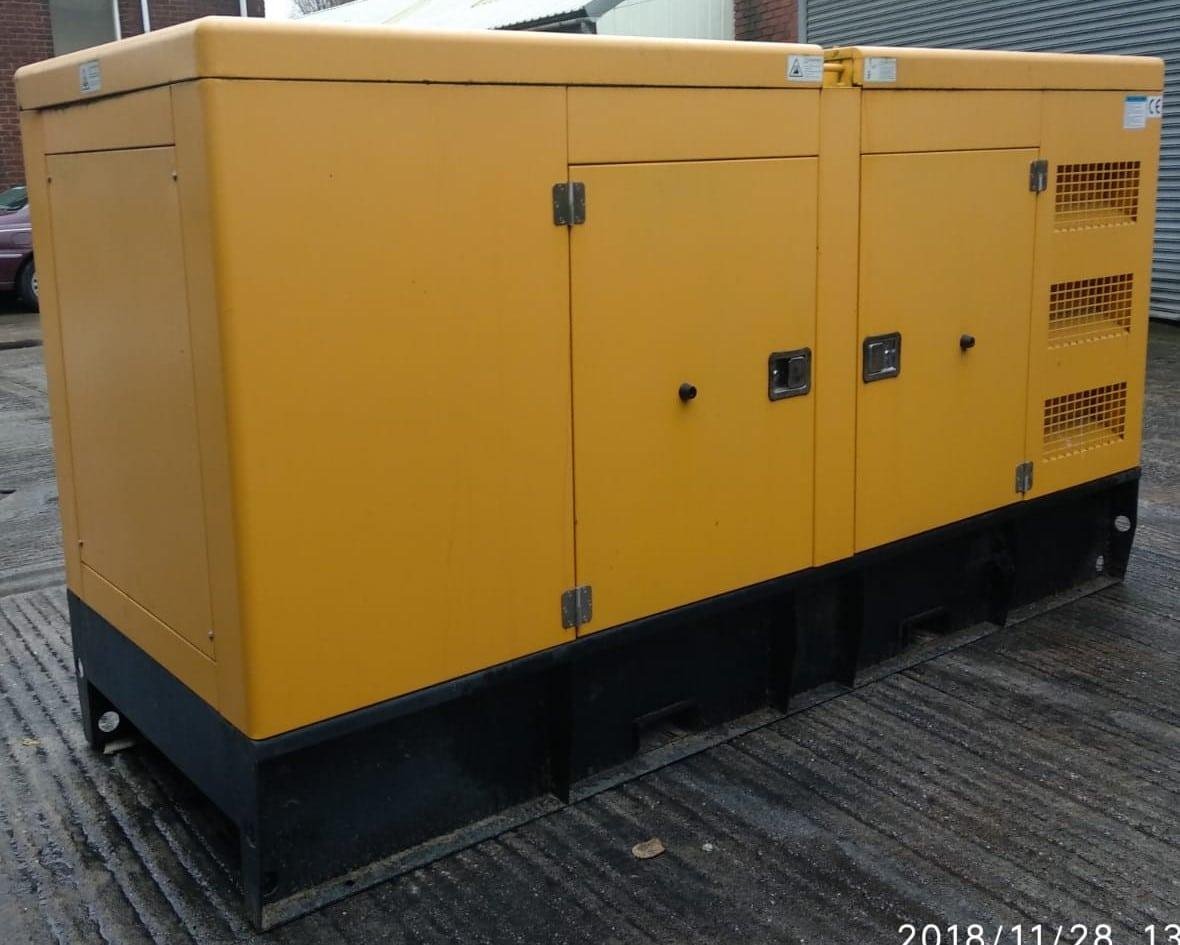 150 KVA Cummins Stamford Acoustic Used Generator 3