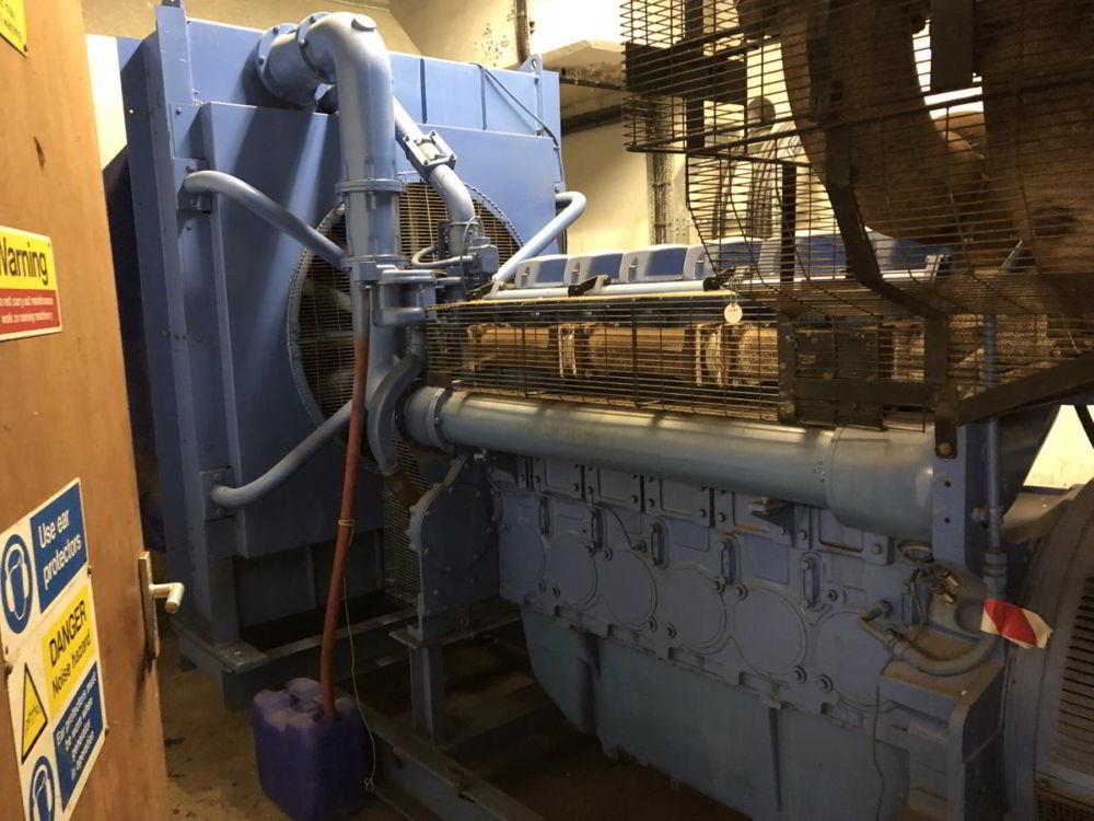 715 KVA Perkins Marelli Used Diesel Generator 3
