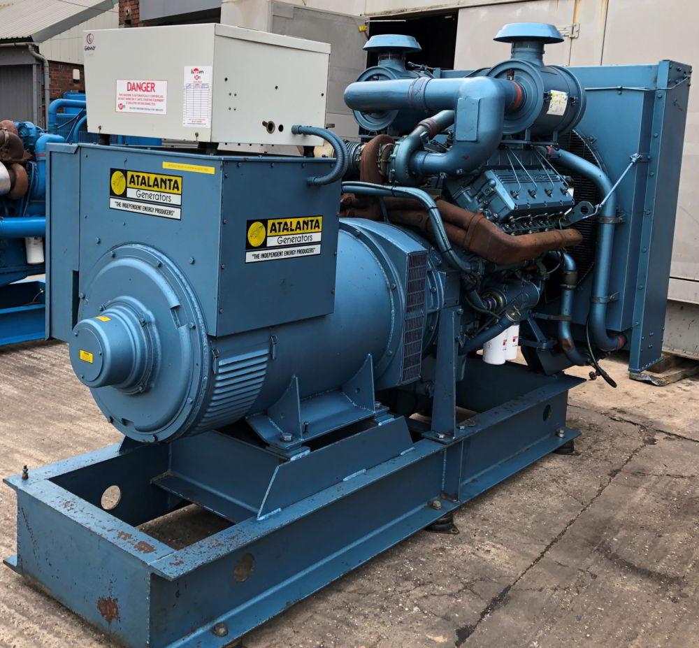 375 KVA Perkins Marelli Used Diesel Generator 3