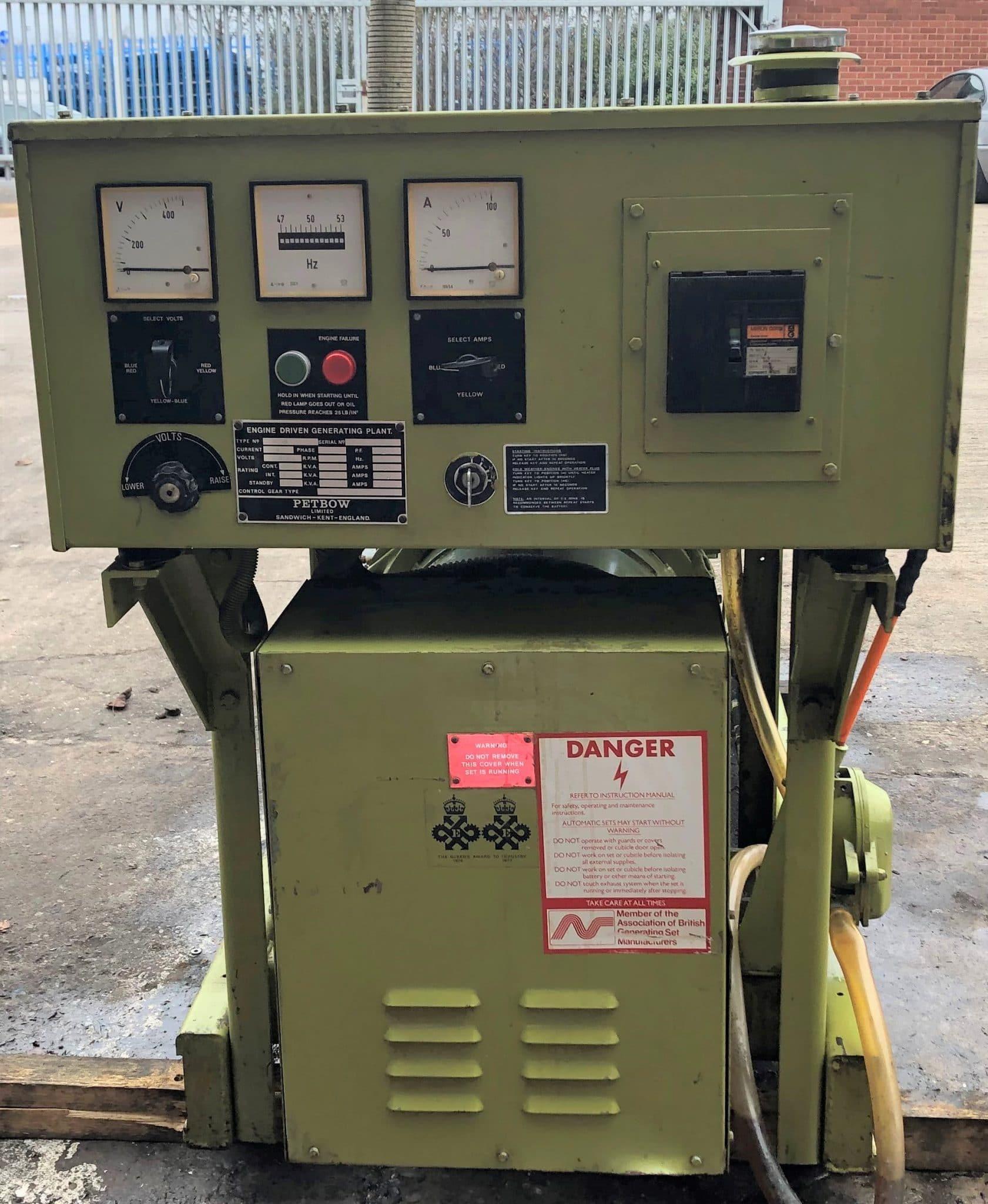 61 KVA Deutz Petbow Used Diesel Generator 3