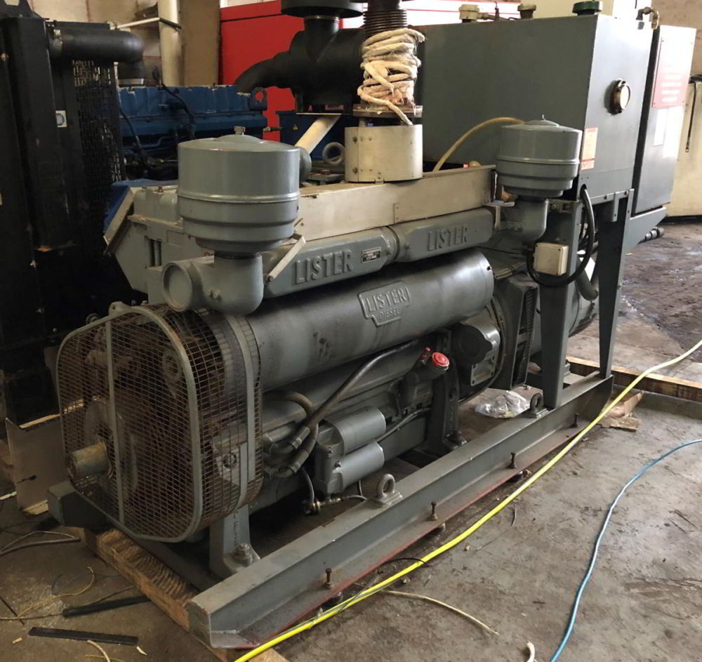 88 kVA Lister Stamford generators 3