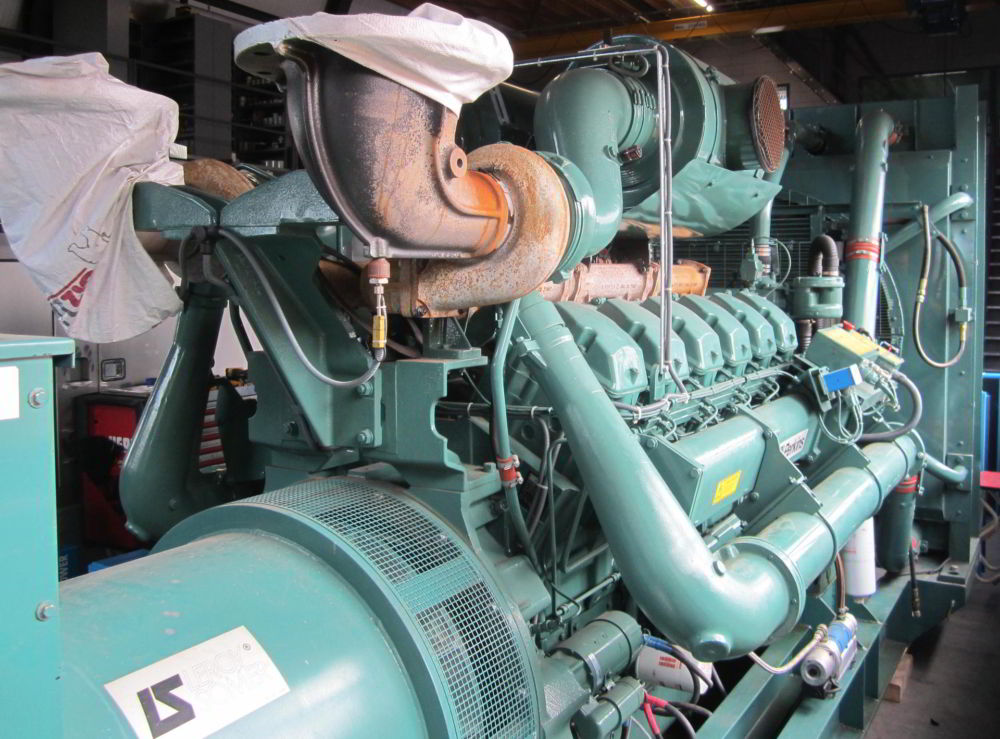 1250 KVA Perkins Leroy Somer 2