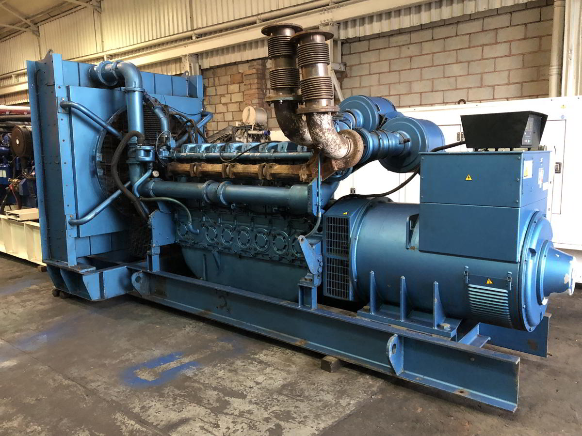 1100 Kva Perkins Stamford Open Type Generator 3
