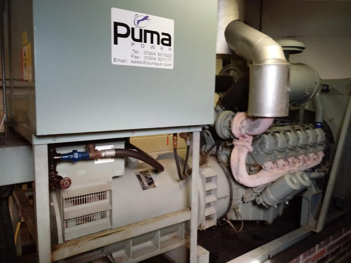 350 MAN ECC Open Type Generator
