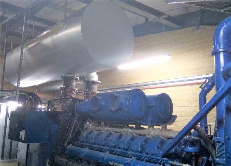 2200 KVA Perkins Stamford F G Wilson Generator 3