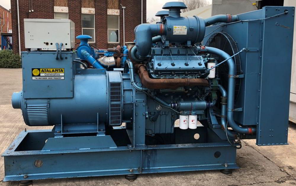 375 KVA Perkins Marelli Used Diesel Generator 4