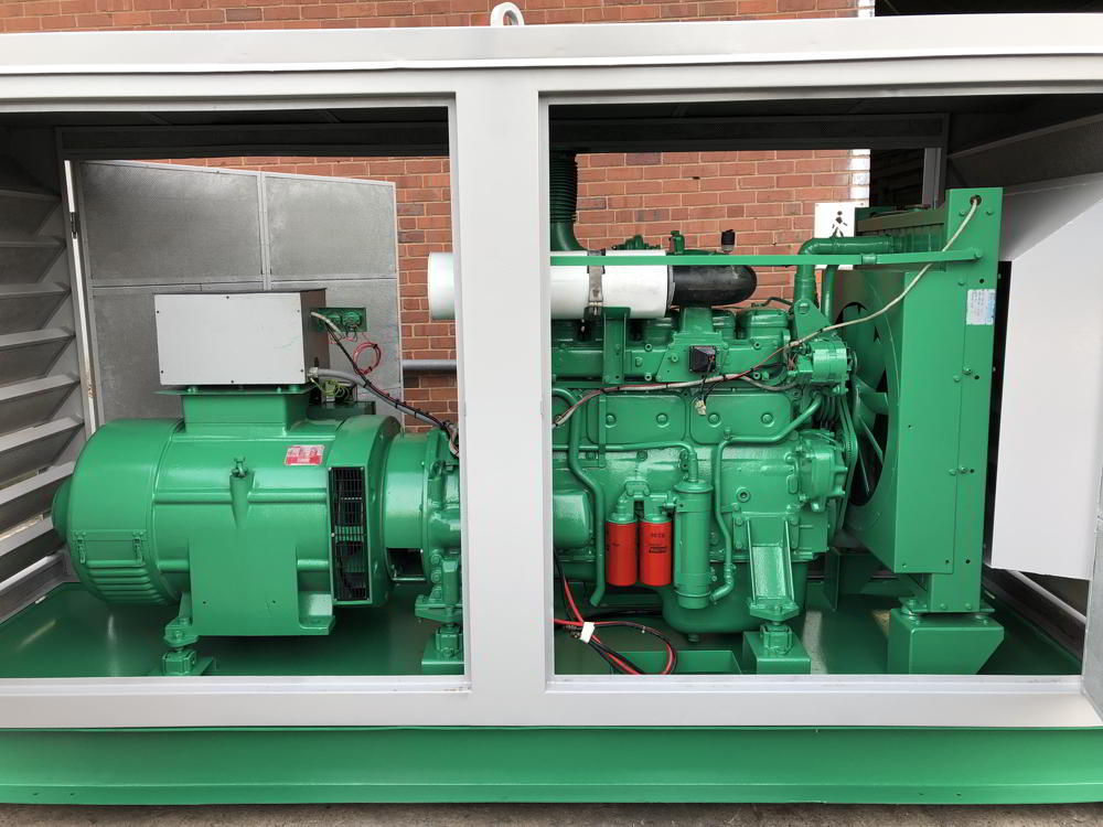 150 Kva Volvo Stamford Used Diesel Generator 4