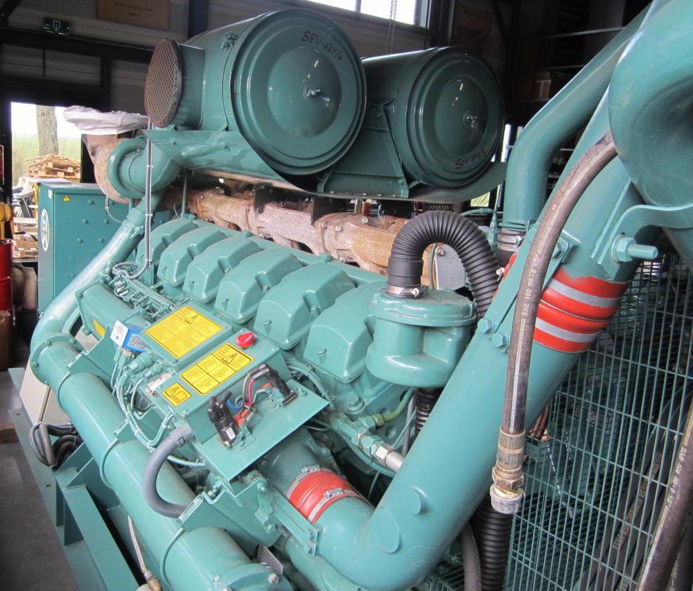 1250 KVA Perkins Leroy Somer 3