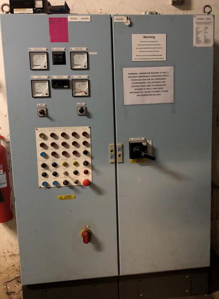 715 KVA Perkins Marelli Used Diesel Generator 5