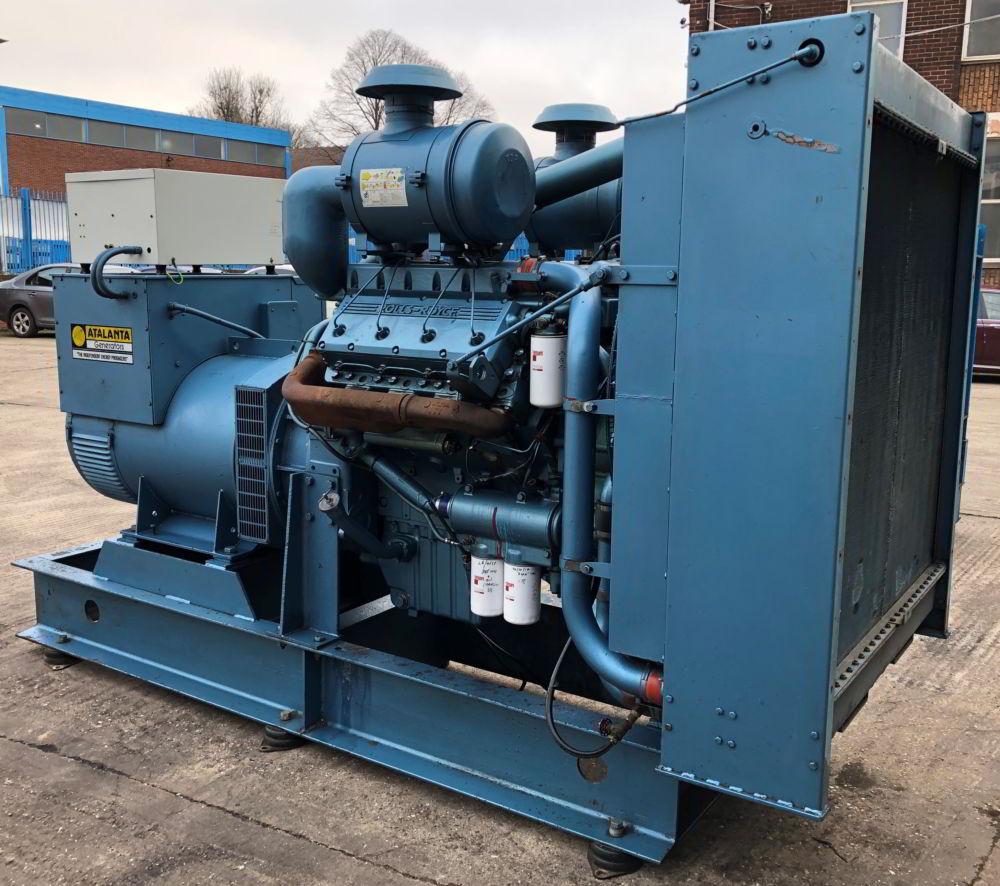 375 KVA Perkins Marelli Used Diesel Generator 5