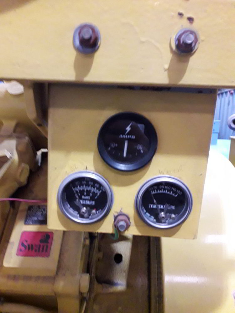 420 KVA Dorman Stamford dials
