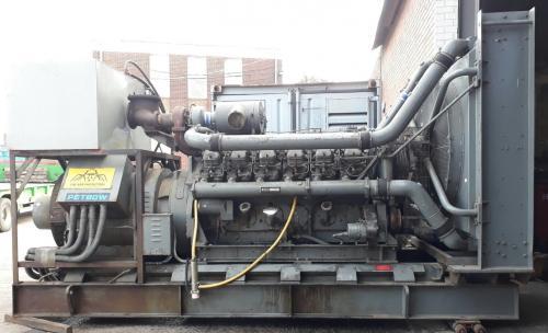594 KVA Dorman Petbow Used Diesel Generator