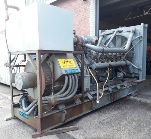 594 KVA Dorman Petbow Used Diesel Generator 2