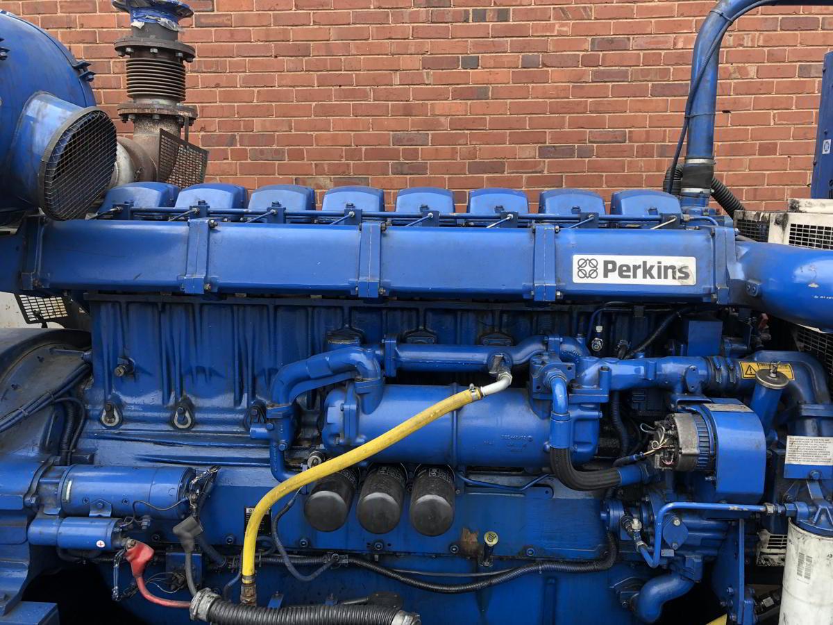 936 Kva Perkins Stamford Open Type Generator 6