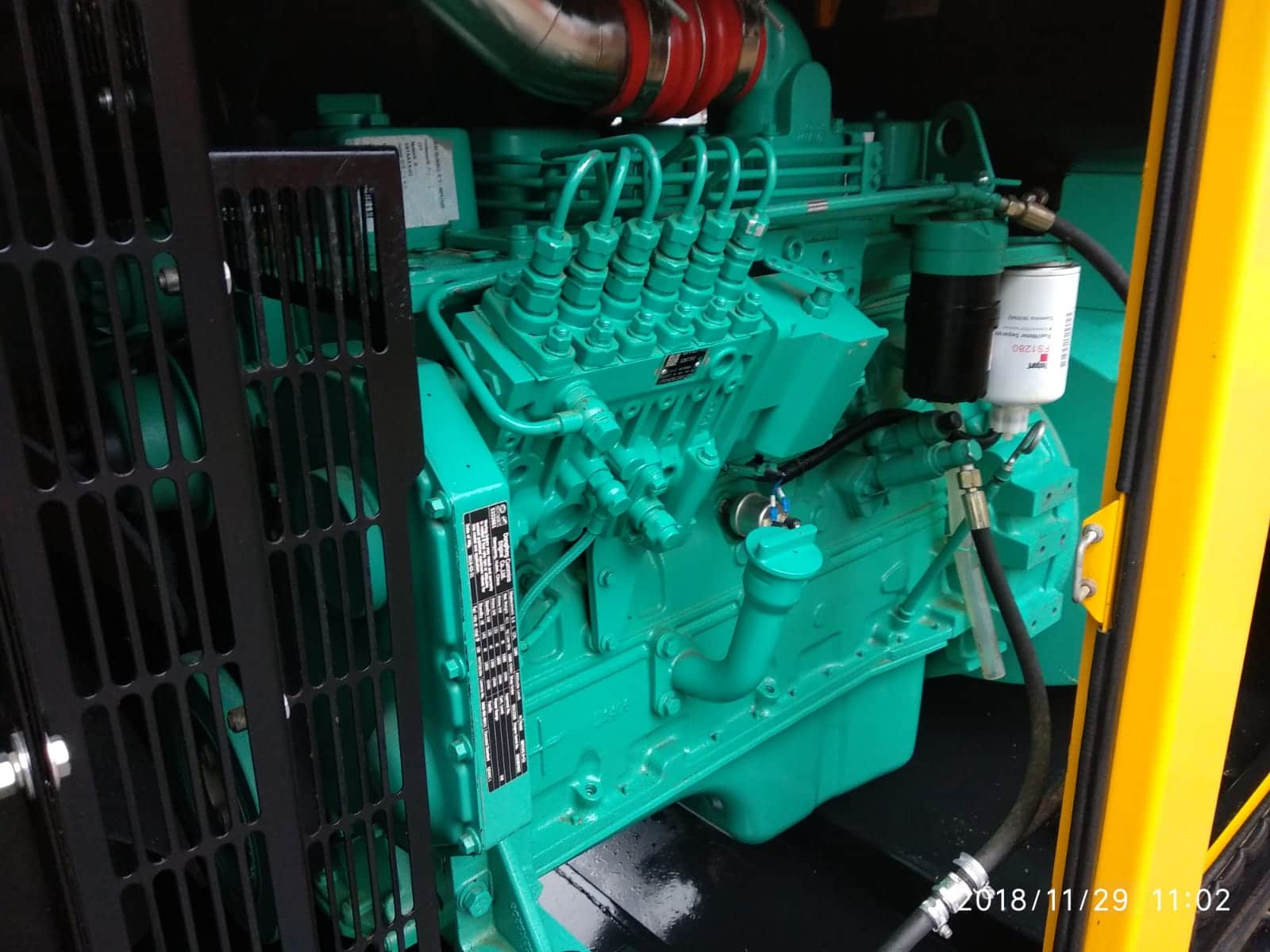 150 KVA Cummins Stamford Acoustic Used Generator 6