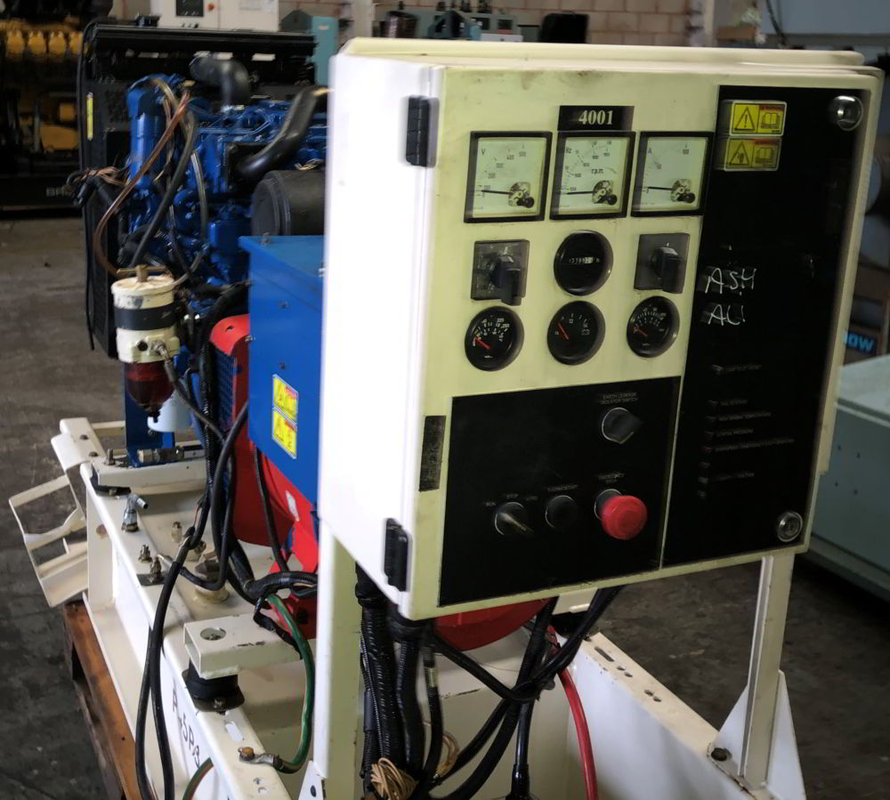 45 Kva Perkins Leroy Somer generator