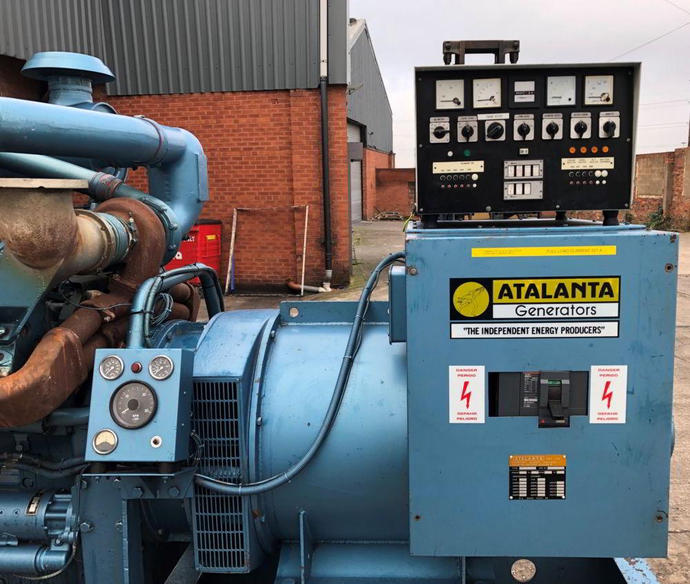 375 KVA Perkins Marelli Used Diesel Generator 6