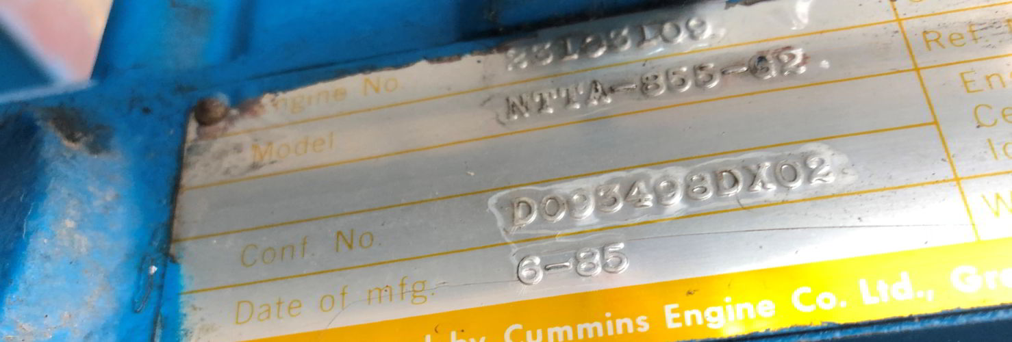 315 Cummins Leroy Somer Diesel Generator details