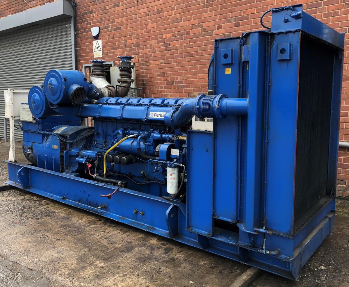 936 Kva Perkins Stamford Open Type Generator 7