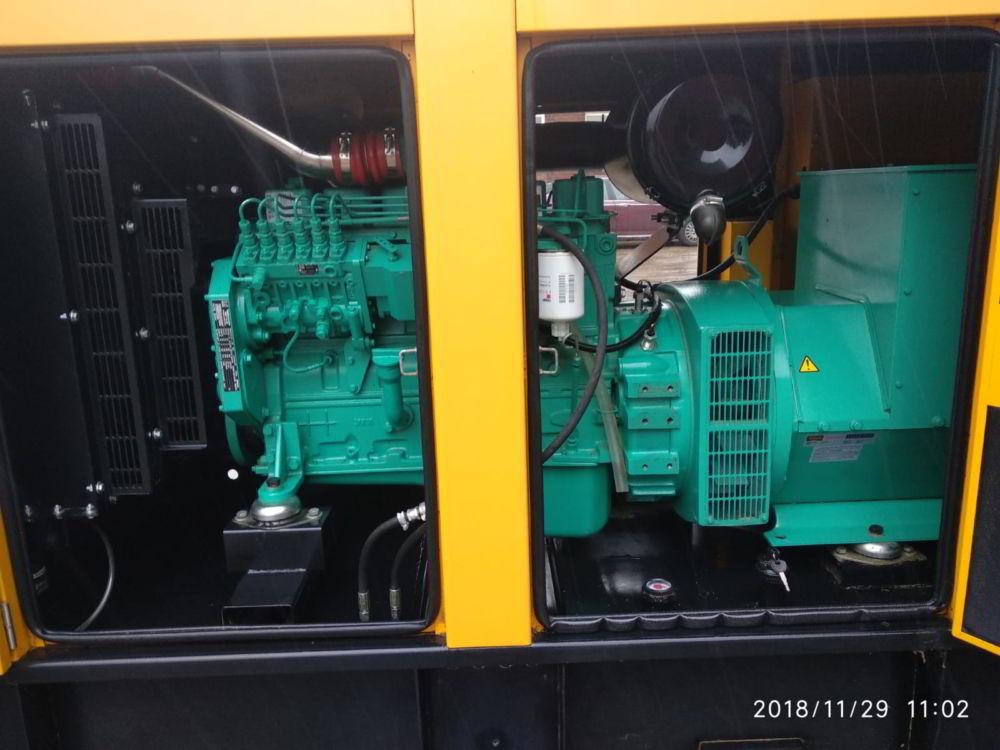 150 KVA Cummins Stamford Acoustic Used Generator 8