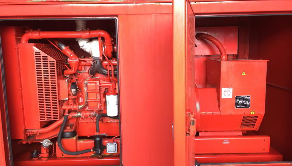 140 KVA Iveco Stamford Acoustic Used Generator 3