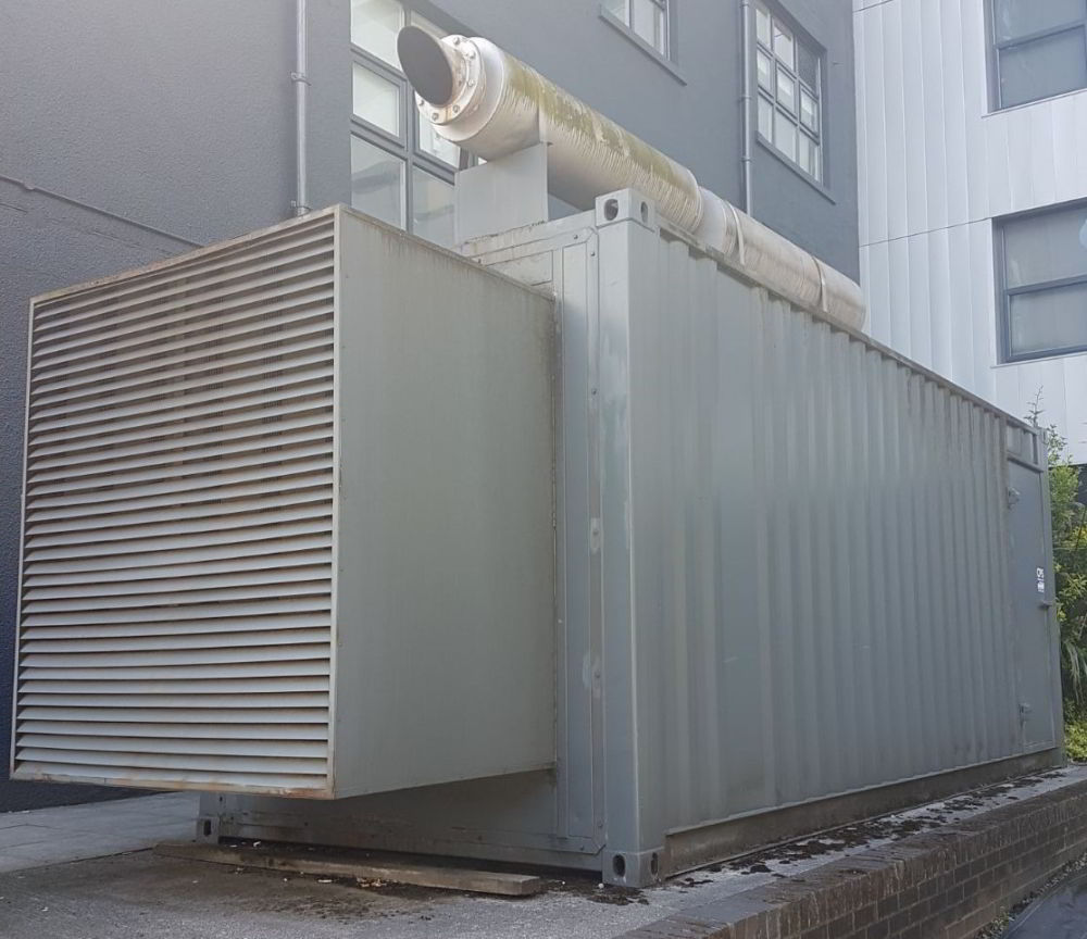 640 KVA Perkins Leroy Somer 20ft Acoustic Container 2