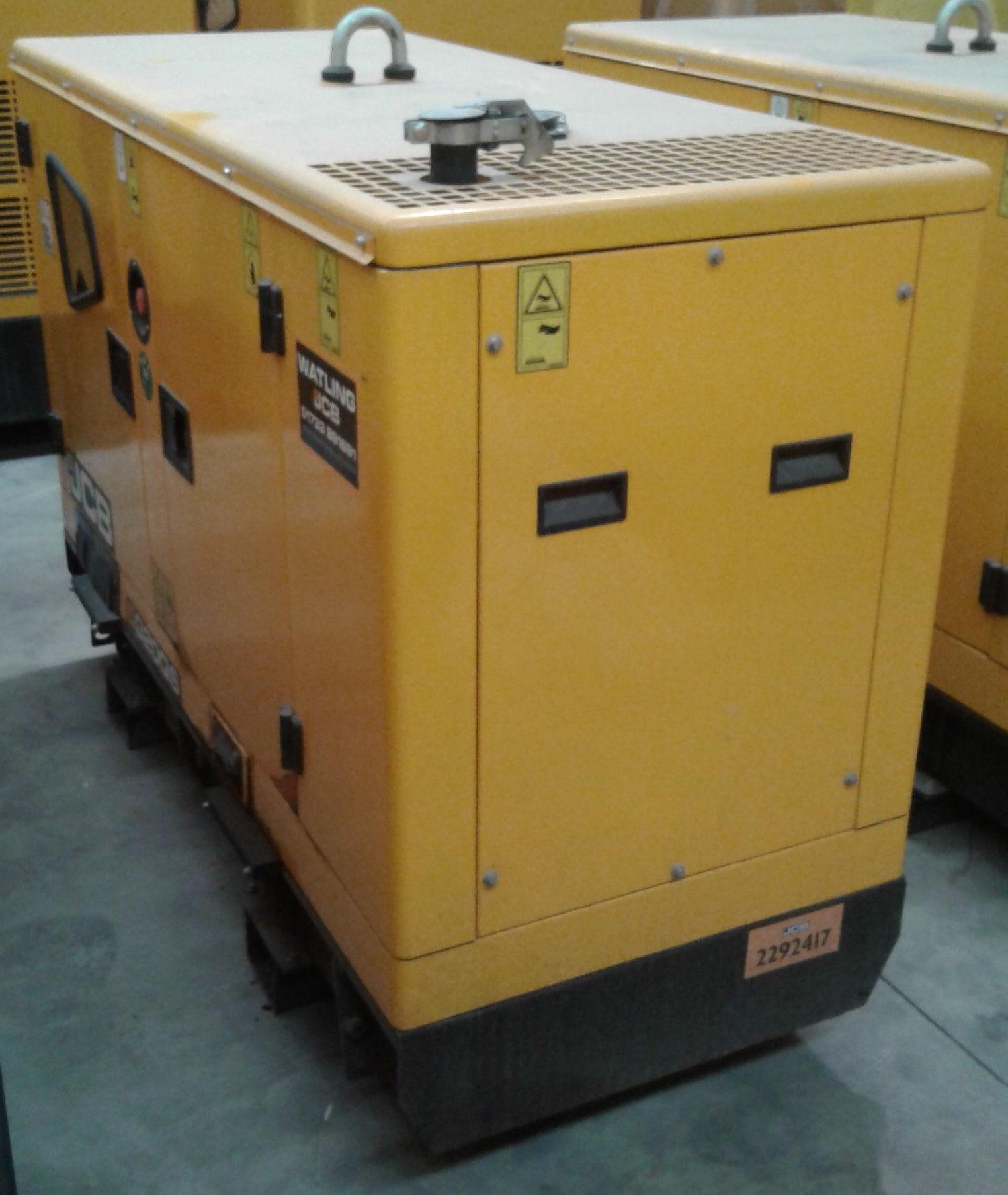 buy a 20 KVA JCB Kholar Meccalte Acoustic Generator