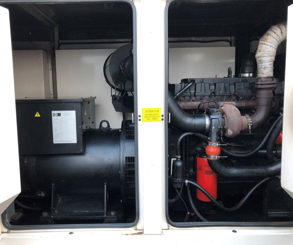 250 KVA PERKINS LEROY SOMER ACOUSTIC 4